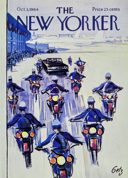 Wall Art - Painting - New Yorker October 3rd 1964 by Arthur Getz