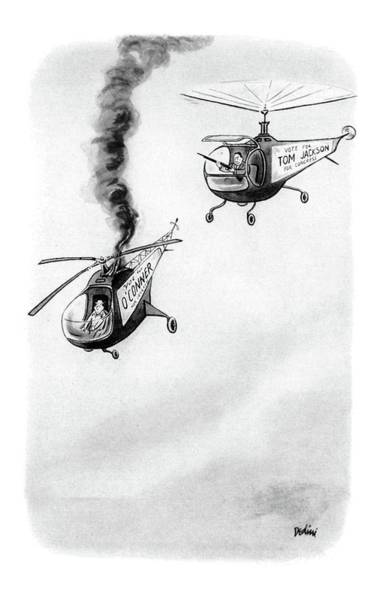 Pilots Drawing - New Yorker October 4th, 1952 by Eldon Dedini