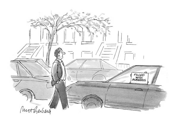 1993 Drawing - New Yorker October 4th, 1993 by Mort Gerberg