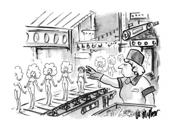 1993 Drawing - New Yorker October 4th, 1993 by Warren Miller