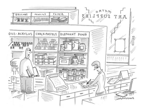 Wall Art - Drawing - New Yorker October 4th, 1999 by Mick Stevens
