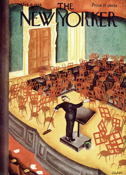 New Yorker October 6th, 1934 Art Print by Charles Alston