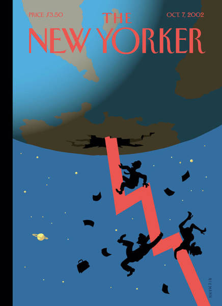 Painting - New Yorker October 7th, 2002 by Christoph Niemann