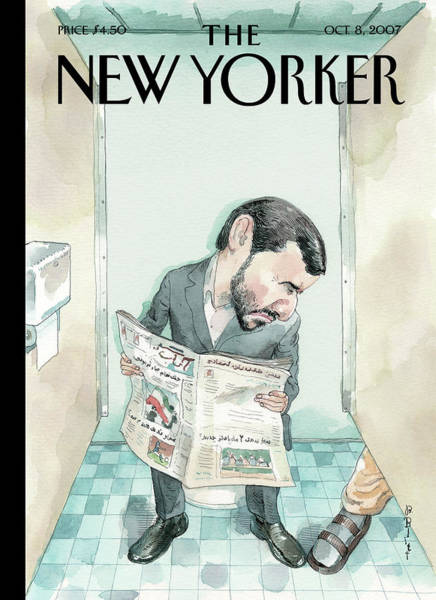Gay Painting - New Yorker October 8th, 2007 by Barry Blitt