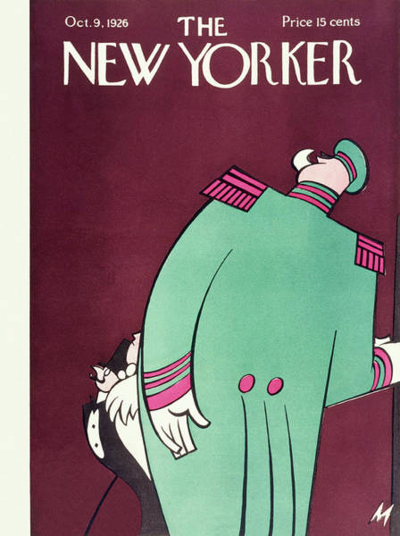 Magazine Cover Painting - New Yorker October 9 1926 by Julian De Miskey