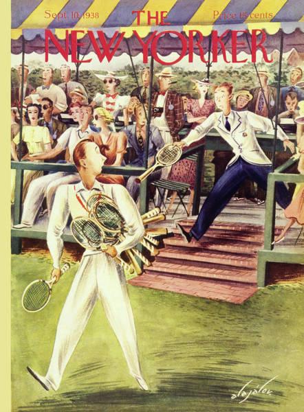 Wall Art - Painting - New Yorker September 10 1938 by Constantin Alajalov