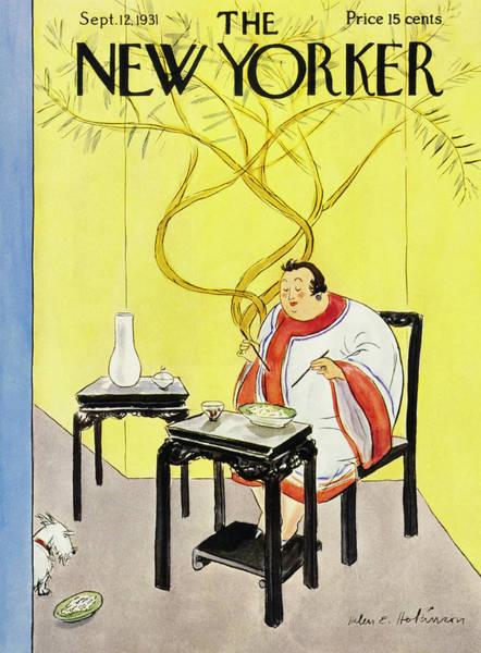 Illustration Painting - New Yorker September 12 1931 by Helene E. Hokinson