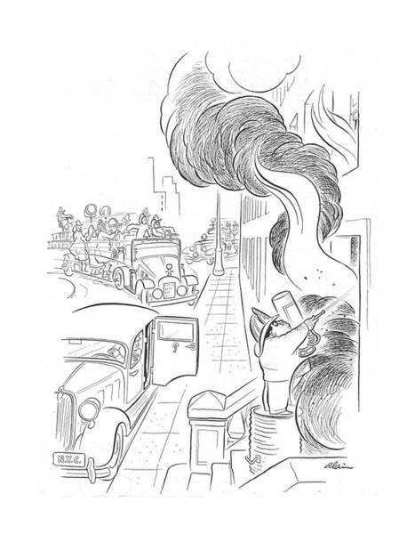 Wall Art - Drawing - New Yorker September 14th, 1940 by  Alain