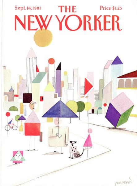 1981 Painting - New Yorker September 14th, 1981 by Paul Degen