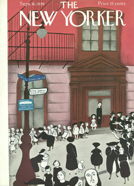 Painting - New Yorker September 16th, 1939 by Christina Malman