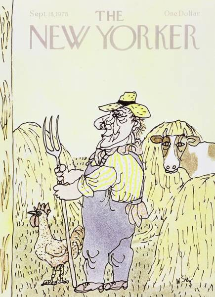 Wall Art - Painting - New Yorker September 18th 1978 by William Steig