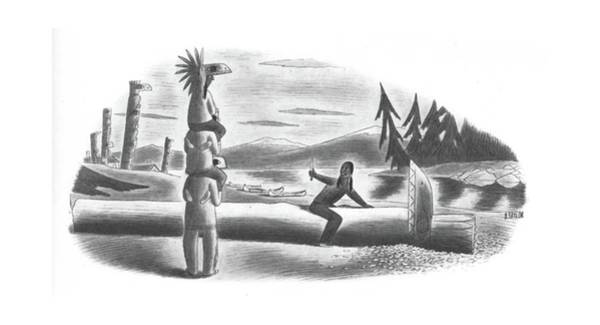 Tribe Drawing - New Yorker September 20th, 1941 by Richard Taylor