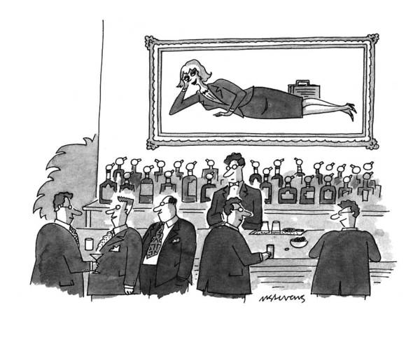 1993 Drawing - New Yorker September 20th, 1993 by Mick Stevens