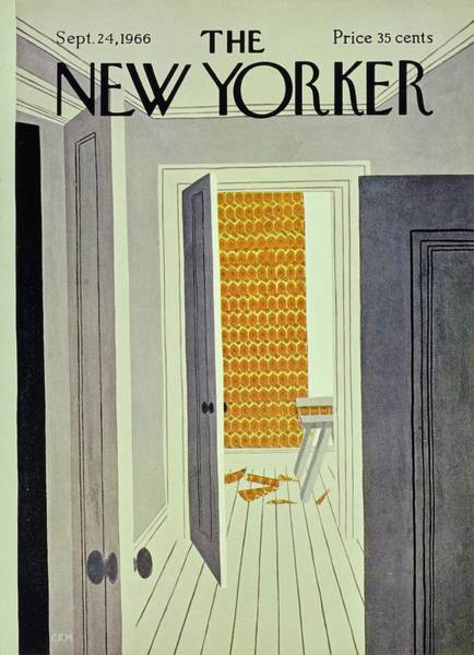 Oranges Painting - New Yorker September 24th 1966 by Charles Martin