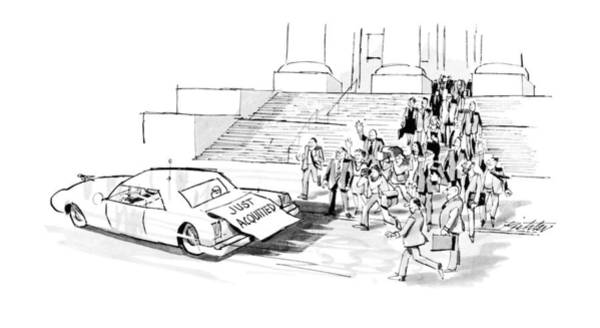 Out Of Business Wall Art - Drawing - New Yorker September 24th, 1990 by Mischa Richter