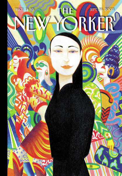 Plays Painting - New Yorker September 26th, 2005 by Lorenzo Mattotti