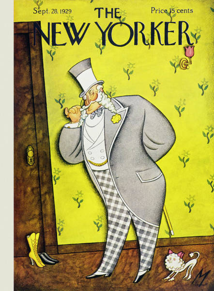 Formal Wear Painting - New Yorker September 28 1929 by Julian De Miskey