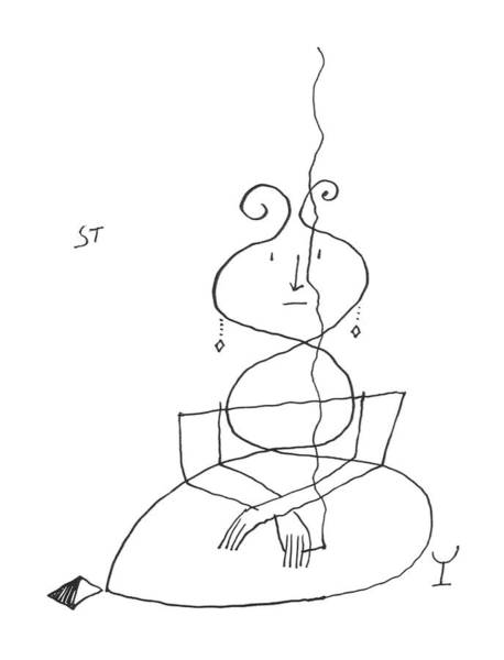 Drink Drawing - New Yorker September 28th, 1957 by Saul Steinberg