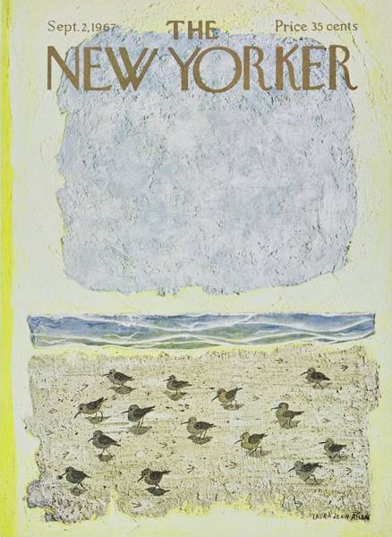 2 Painting - New Yorker September 2nd 1967 by Laura Jean Allen