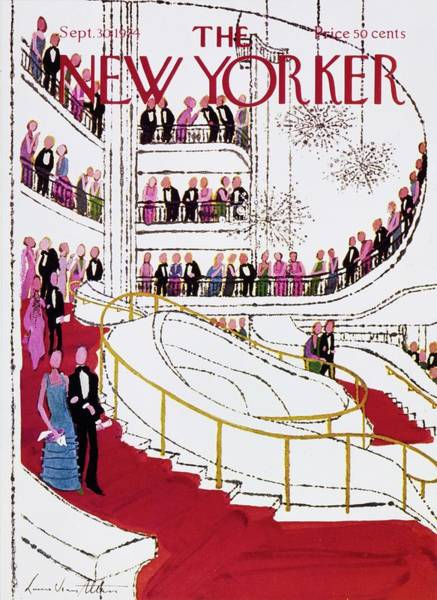Formal Wear Painting - New Yorker September 30th 1974 by Laura Jean Allen