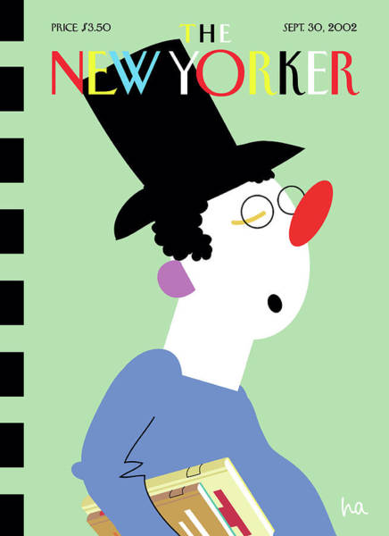 Education Painting - New Yorker September 30th, 2002 by Bob Zoell (HA)