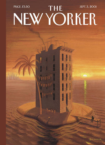 Painting - New Yorker September 3rd, 2001 by Eric Drooker