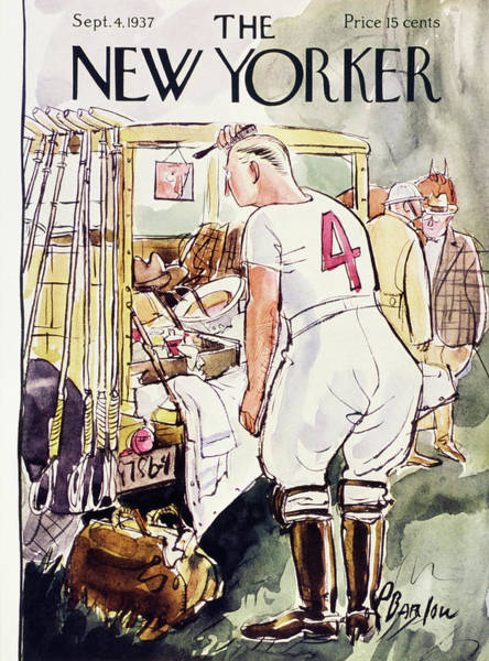 Preparation Painting - New Yorker September 4 1937 by Perry Barlow