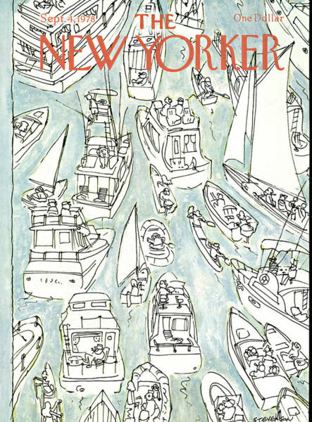 Nautical Painting - New Yorker September 4th, 1978 by James Stevenson
