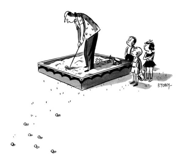 Watch Out Wall Art - Drawing - New Yorker September 5th, 1959 by Barney Tobey