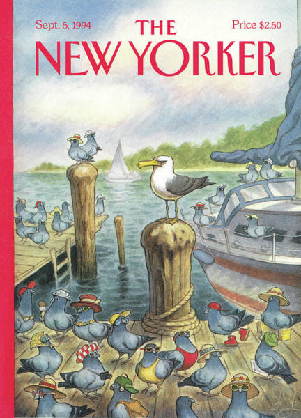 1994 Painting - New Yorker September 5th, 1994 by Peter de Seve