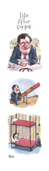 1993 Drawing - New Yorker September 6th, 1993 by Barry Blitt