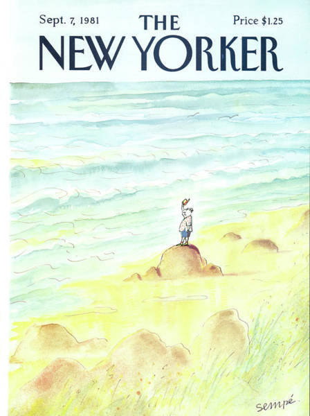 Nautical Painting - New Yorker September 7th, 1981 by Jean-Jacques Sempe