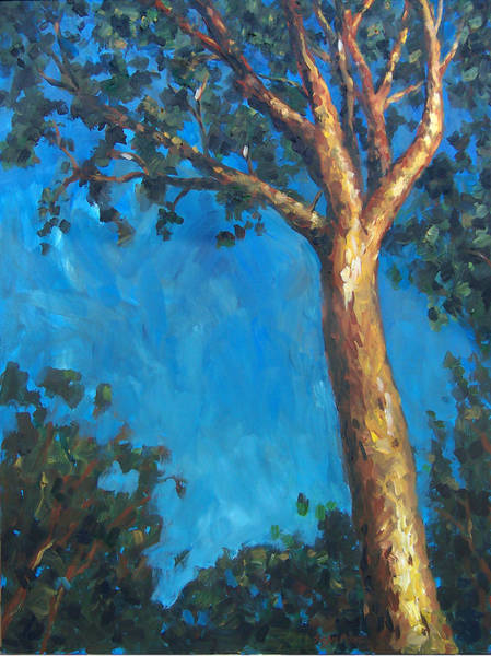 Painting - New Zealand Tree by Susan Moore