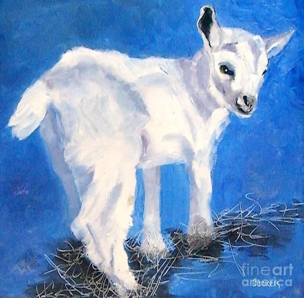 Painting - Newborn Kid by Susan A Becker