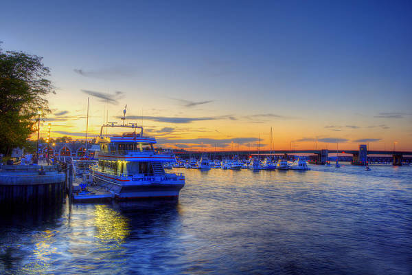 Wall Art - Photograph - Newburyport Harbor Marina by Joann Vitali