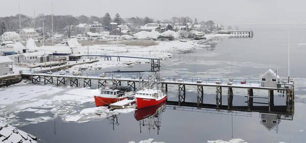Photograph - Newburyport In Winter by Rick Mosher