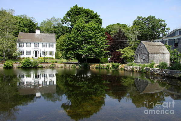 Wall Art - Photograph - Newcomb Tavern And Dexter's Grist Mill by Christiane Schulze Art And Photography
