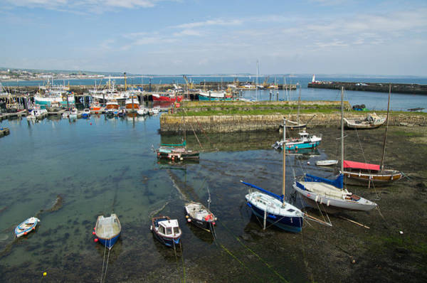 Photograph - Newlyn Harbour In Cornwall by Pete Hemington
