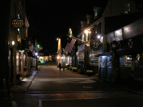 Photograph - Newport At Night 2034 by Guy Whiteley