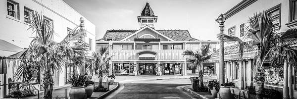 Pavilion Photograph - Newport Beach Panorama Of Balboa Main Street by Paul Velgos