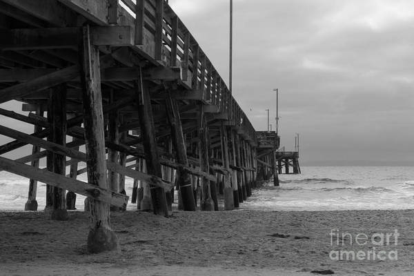 Photograph - Newport Beach Pier by Ana V Ramirez