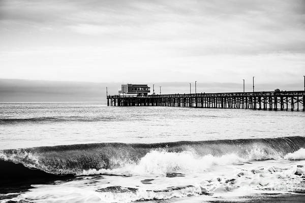 Newport Wall Art - Photograph - Newport Beach Pier by Paul Velgos