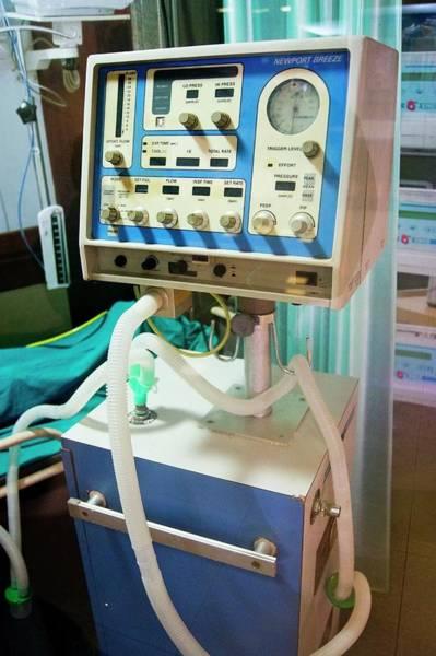 Breeze Photograph - Newport Breeze Respiratory Ventilator by Mark Williamson