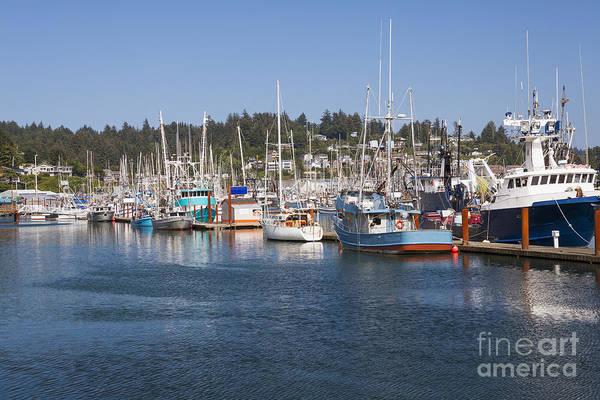Photograph - Newport Marina by Bryan Mullennix