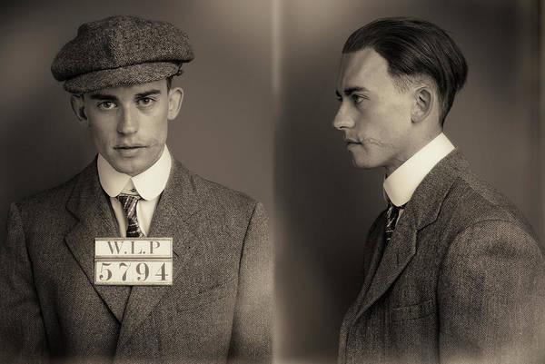 Mug Photograph - News Boy Wanted Mugshot by Nick Dolding