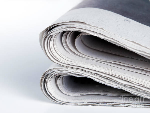 Tabloids Photograph - Newspapers by Sinisa Botas