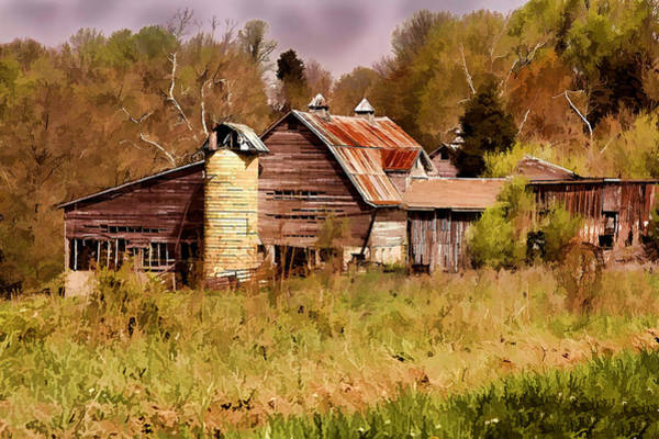 Photograph - Newton Township Barn by David Yocum