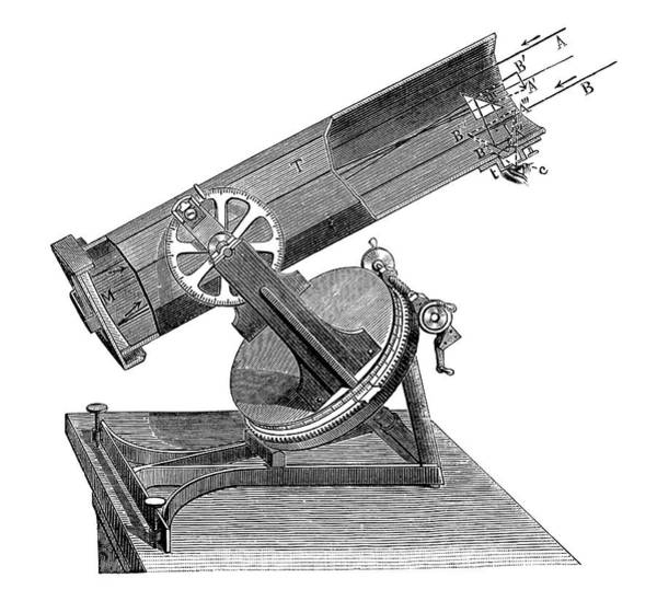 Physique Photograph - Newtonian Telescope by Science Photo Library