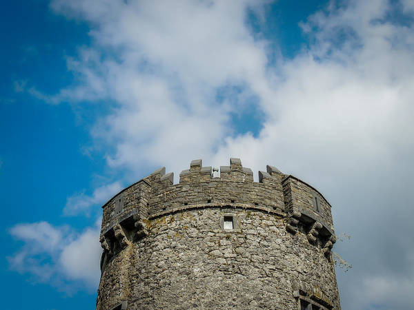 Photograph - Newtown Castle Tower In Ireland's Burren Region by James Truett