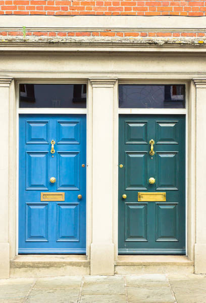 Door Photograph - Next Door Neighbours by Tom Gowanlock